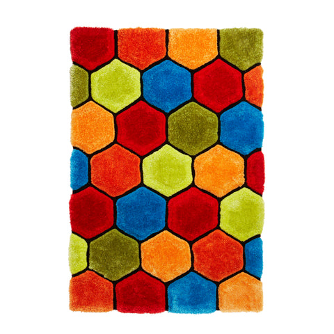 Think Rugs Noble House NH30782 Multi-coloured