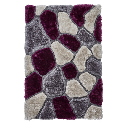 Think Rugs Noble House NH5858 Grey/Purple
