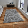 Think Rugs Noble House NH5858 Silver