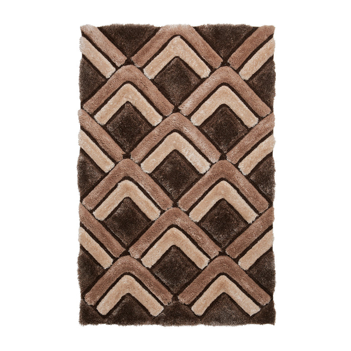 Think Rugs Noble House NH8199 Brown