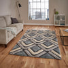 Think Rugs Noble House NH8199 Grey/Blue