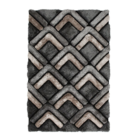 Think Rugs Noble House NH8199 Grey