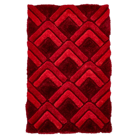 Think Rugs Noble House NH8199 Red
