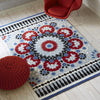 Plantation Rug Co. Nomadic Red/Blue/Pink