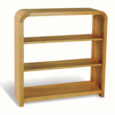 Lucy Oak Small Bookcase