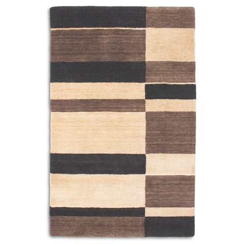 Plantation Rug Co. Pacific Black/Sand