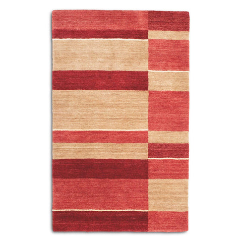 Plantation Rug Co. Pacific Red/Sand
