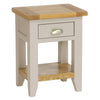 Rustic Bedside Table -Potter's Wheel - Living Room by Besp-Oak available from Harley & Lola - 3