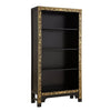 Baumhaus The Nine Schools Oriental Decorated Black Bookcase