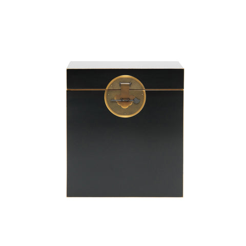 Baumhaus The Nine Schools Qing Black and Gilt Trunk