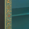 Baumhaus The Nine Schools Oriental Decorated Blue Bookcase