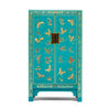 Baumhaus The Nine Schools Oriental Decorated Blue Medium Cabinet