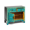 Baumhaus The Nine Schools Oriental Decorated Blue Sideboard