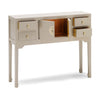 Baumhaus The Nine Schools Qing Oyster Grey Small Console Table