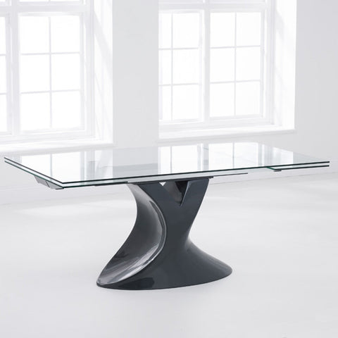 Mark Harris Murcia Extending Glass Dining Table