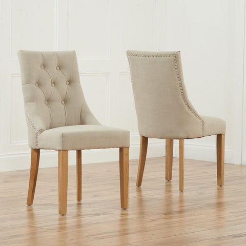 Mark Harris Pailin Oak Chairs (Pair)