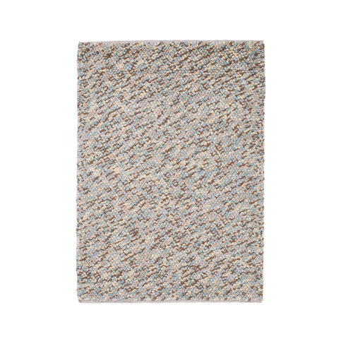 Think Rugs Pebbles Light Blue