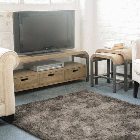Lucy Mango Wood TV Unit