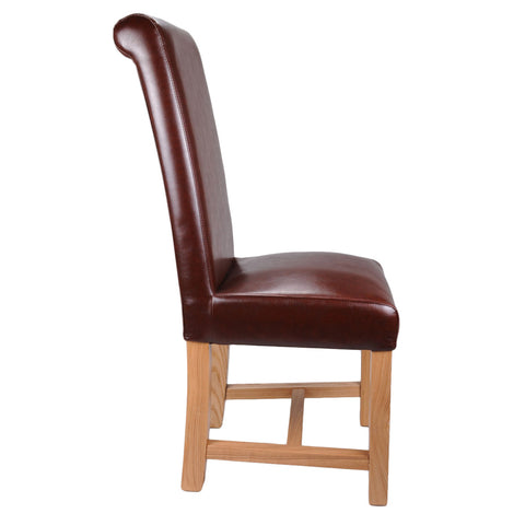 Richmond Antique Bonded Leather Chair