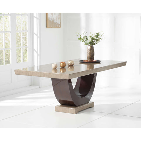 Mark Harris Rivilino 200cm Marble Dining Table