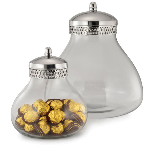 Honeycomb Storage Jar