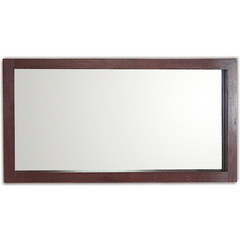 Jerez Dark Oak Wide Wall Mirror 140 x 70