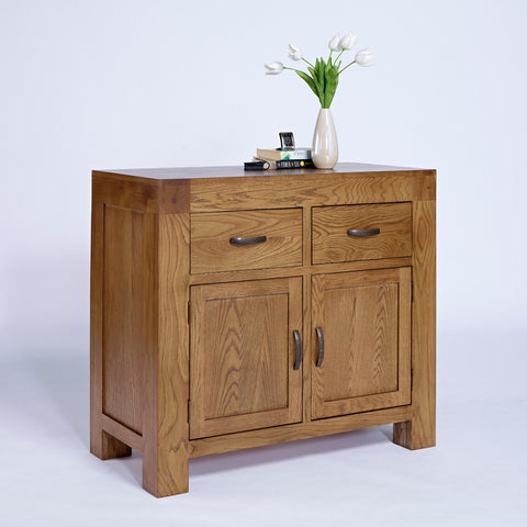 Santana Rustic Oak Small Sideboard - - Living Room by Ametis available from Harley & Lola - 1