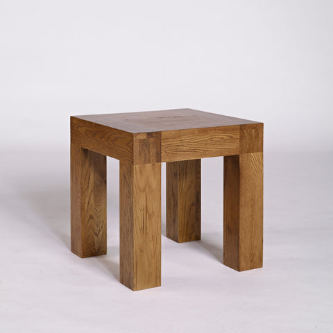 Ametis Santana Rustic Oak Lamp Table