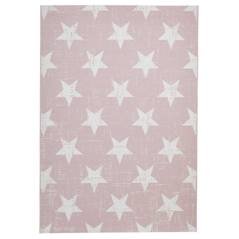 Think Rugs Santa Monica 48648 Rose/Cream