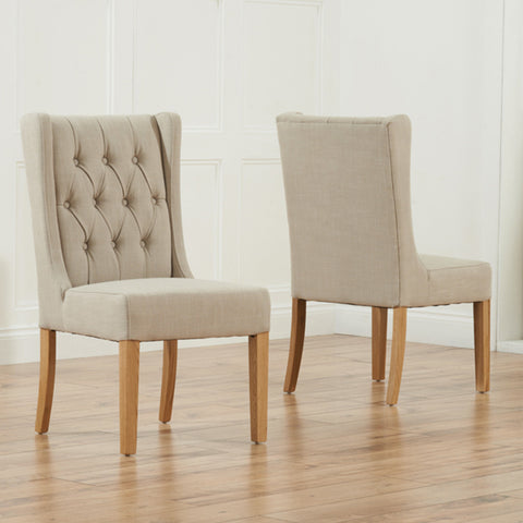 Stefini Dining Chairs -Beige - Dining Room by MHarris available from Harley & Lola - 1