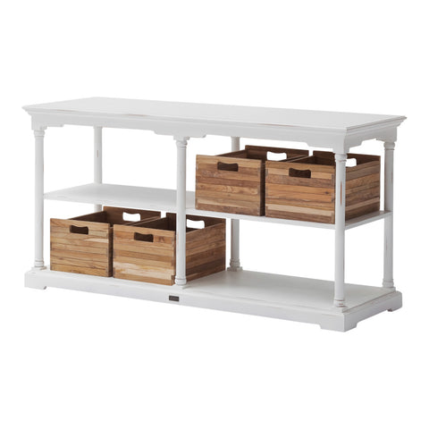 Novasolo Bordeaux Kitchen Table Medium with 4 boxes