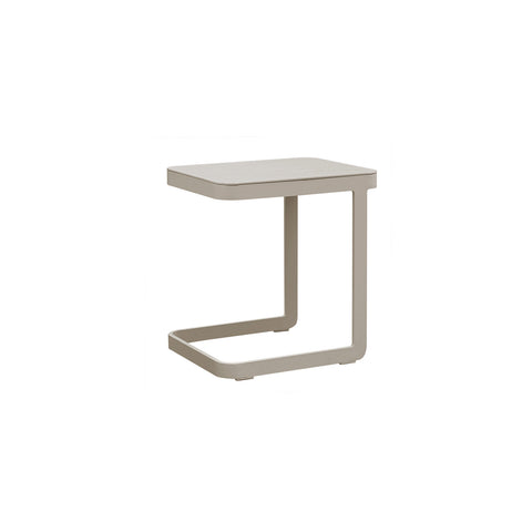 Cozy Bay Verona Aluminium U Shape Side Table