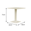 Verona Aluminium Square 2 Seater Dining Table - - Garden and Conservatory by Cozy Bay available from Harley & Lola - 4