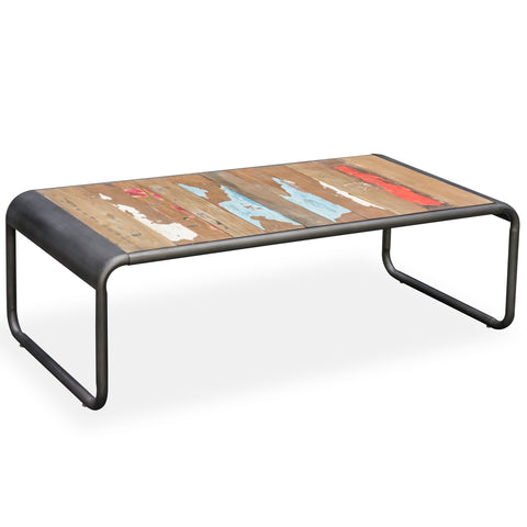 Nordic Reclaimed Retro Coffee Table
