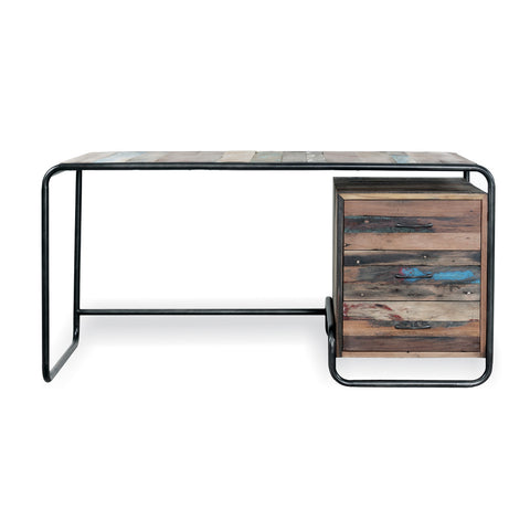 Nordic Reclaimed Retro Office Desk