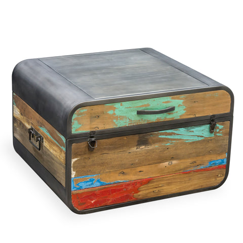 Nordic Reclaimed Retro Trunk / Coffee Table