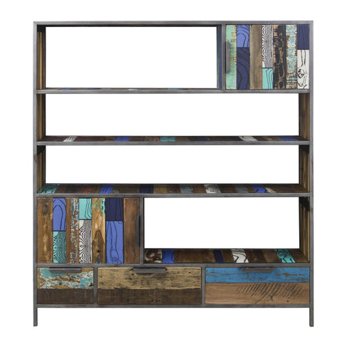 Nordic Reclaimed Evolve Bookshelves White