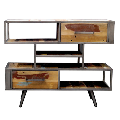 Nordic Reclaimed Buffet Shelving Unit