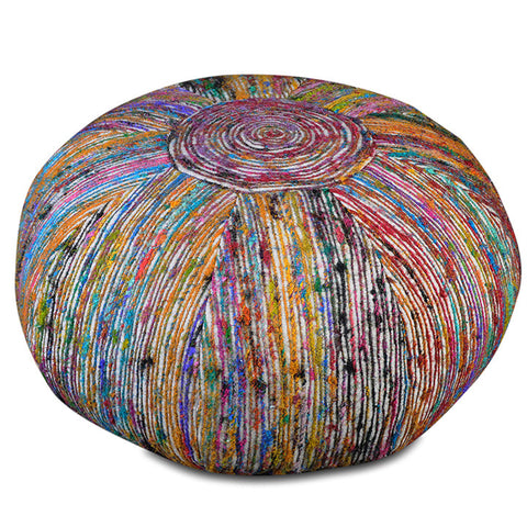 Silk Lane Pouf