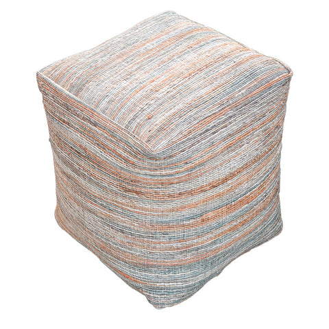 Shiro Pouf -Grey Brown - Living Room by Besp-Oak available from Harley & Lola - 1