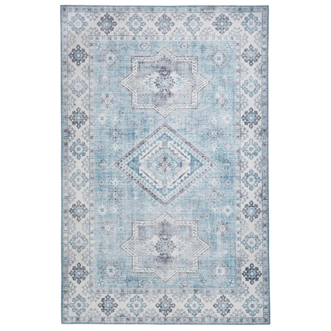Think Rugs Topaz G4705 Light Blue