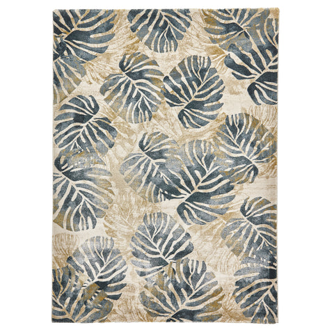 Think Rugs Tropics 6097 Cream/Blue
