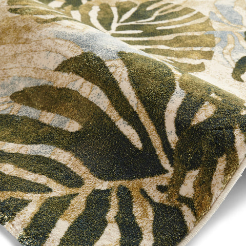 Think Rugs Tropics 6097 Cream/Green