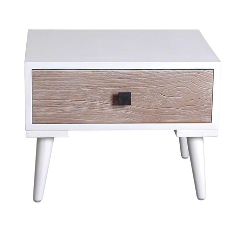 Malmo Retro Single Drawer Side Table