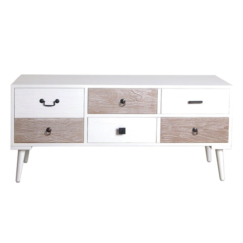 Malmo Retro Wide Side Table - - Living Room by Bluebone available from Harley & Lola