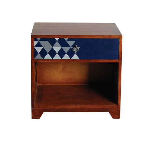 Dalston Navy Side Table - - Living Room by Bluebone available from Harley & Lola