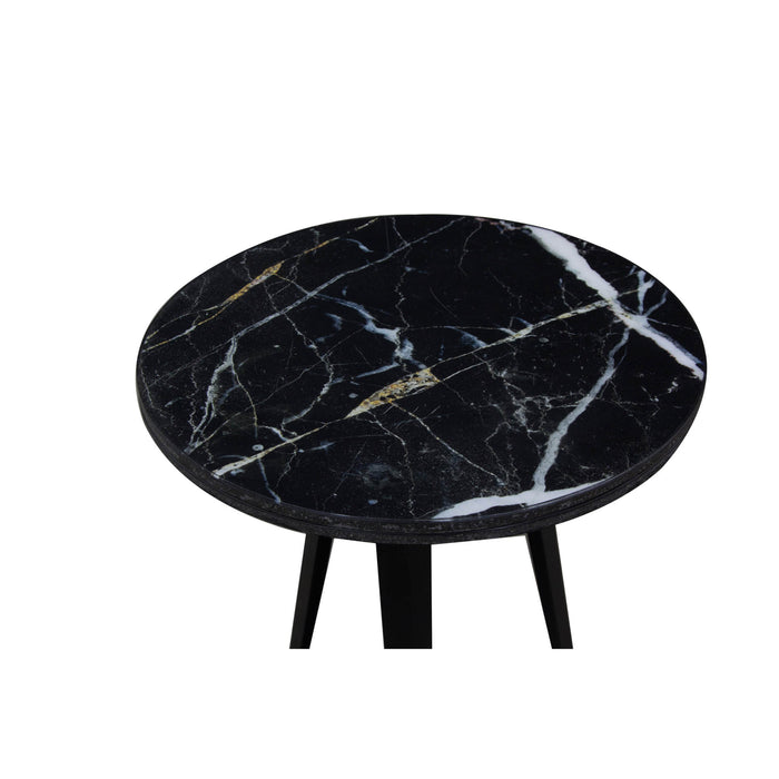 ManTeak Marble Top Lamp Table
