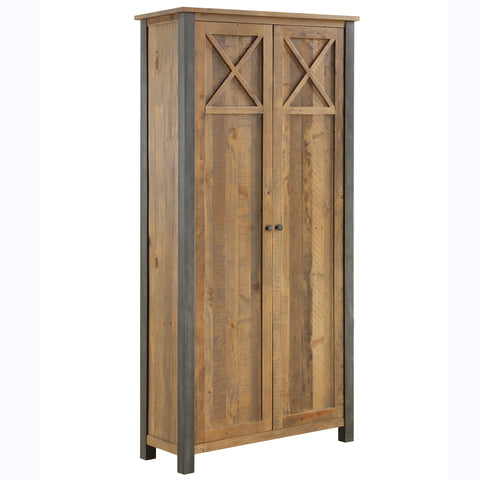 Baumhaus Urban Elegance  Reclaimed Living Room Storage Cabinet