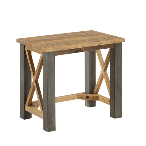 Baumhaus Urban Elegance  Reclaimed Open Front Side / Lamp Table