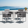 Verona Aluminium Square 4 Seater Dining Table - - Garden and Conservatory by Cozy Bay available from Harley & Lola - 5